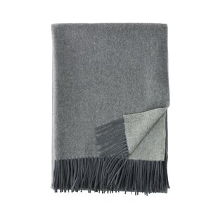 Merino Wool Reversible Throw
