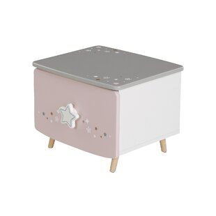 Allegro 1 Drawer Nightstand By Harriet Bee