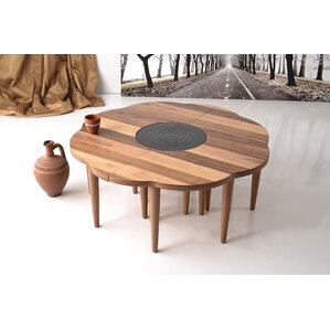 Greaves Walnut Coffee Table by Brayden Studio