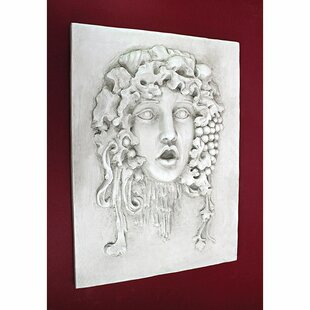 Medium Vappa And Goddess Of The Grapes Italian Wall Décor