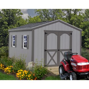 Best Barns Elm Solid Wood Storage Shed