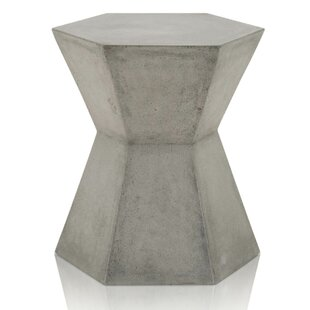 Elena Hexagonal End Table