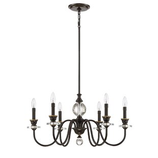 Ellisurg 6-Light Chandelier By Darby Home Co