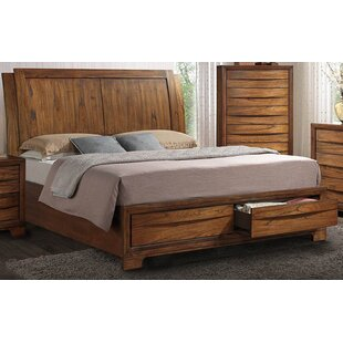 Russet Queen Storage Sleigh Bed by Loon Peak