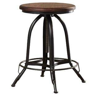 Review Nevada Height Adjustable Swivel Bar Stool
