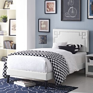 Kerley Twin Upholstered Platform Bed by Everly Quinn Design