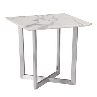 Modern Contemporary Marble Top Side Table Allmodern