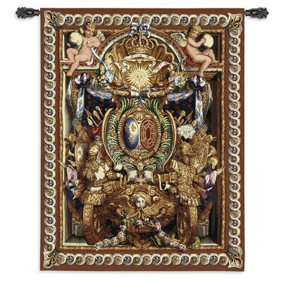 Fine Art Tapestries Abstract Portieve Du Char Tapestry