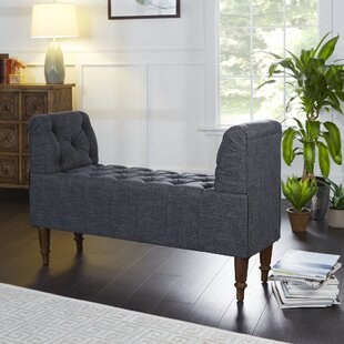Lorelei Farmhouse Upholstered Bench