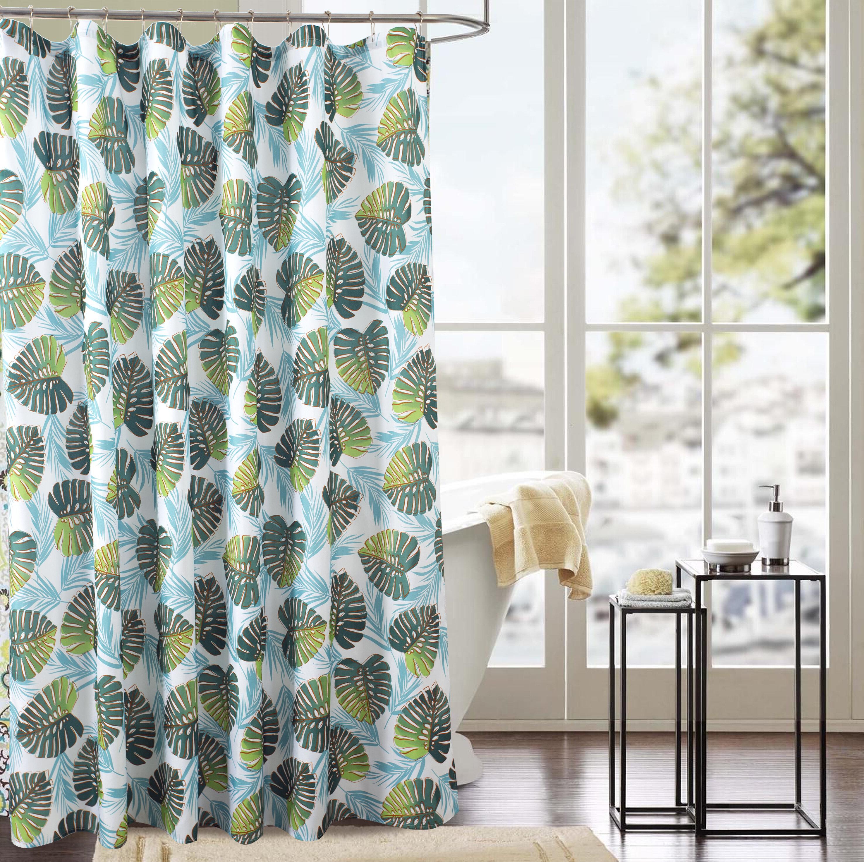 Bay Isle Home Varennes Classic Fern Single Shower Curtain Reviews Wayfair