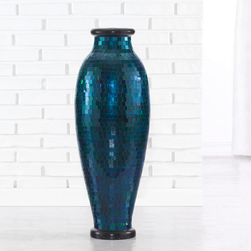 Polivaz Mosaic Urn Floor Vase Wayfair