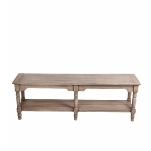 Dunia Wood Bench