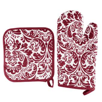 Lavish Home Deluxe Quilted Potholder Reviews Wayfair