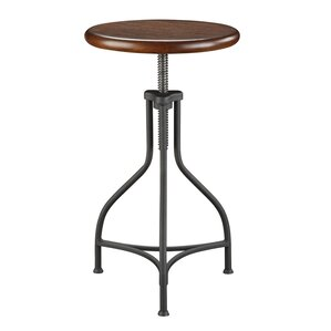 Elgin Adjustable Height Swivel Bar Stool by Trent Austin Design