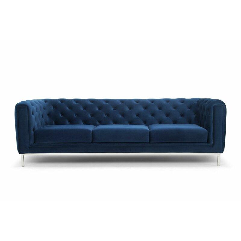 Astrid Velvet Chesterfield Sofa