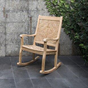Catalunya Teak Rocking Chair