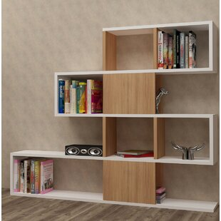 Huseman Geometric Bookcase by Wrought Studio