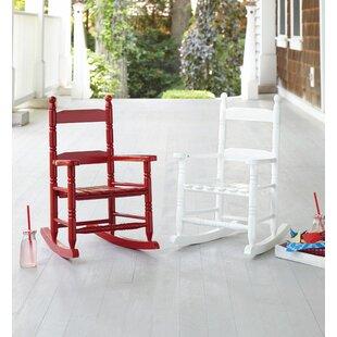 Waymon Rocking Chair (Set of 4) by Harriet Bee