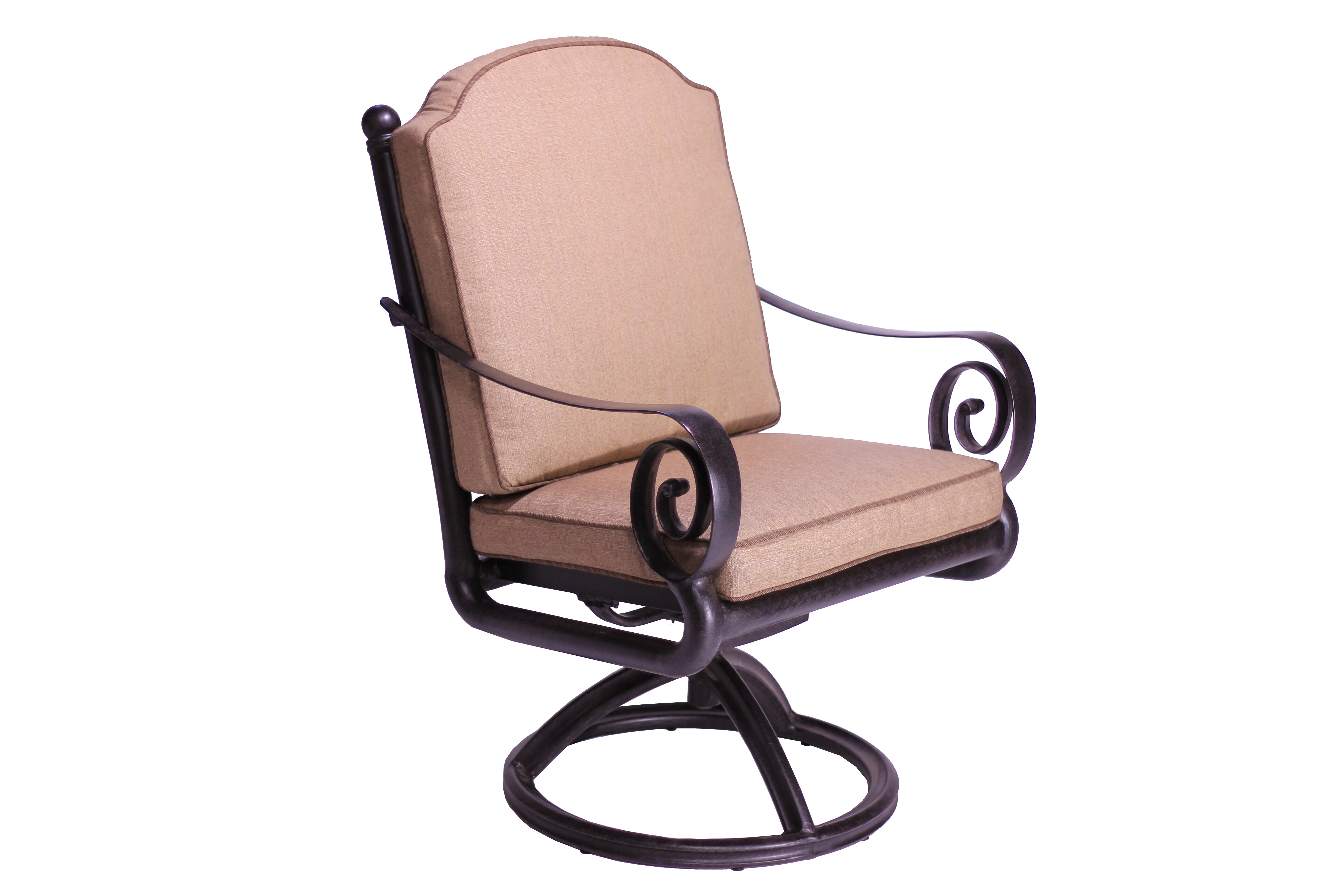 Sensational Westhampton Swivel Patio Dining Chair With Cushion Beatyapartments Chair Design Images Beatyapartmentscom