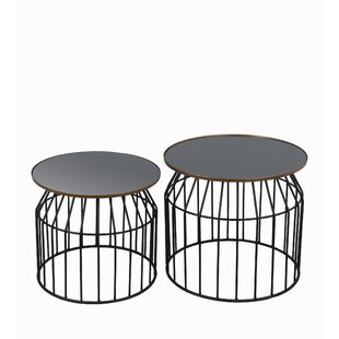 Johna 2 Piece Coffee Table Set
