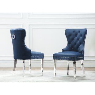 Zephyrine Upholstered Dining Chair (Set o..