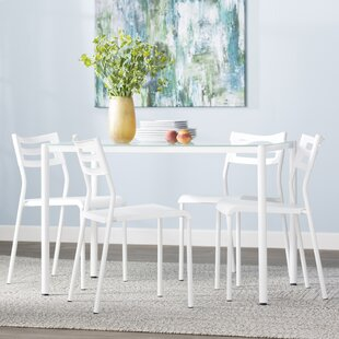 Tober 5 Piece Breakfast Nook Dining Set Latitude Run