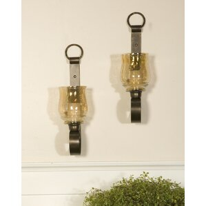 Metal Wall Sconces candle sconces you'll love | wayfair