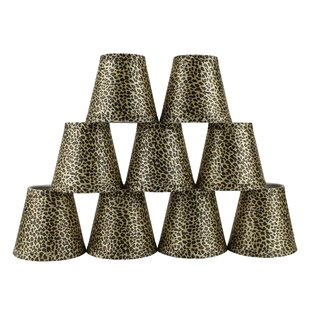 5 Cheetah Empire Lamp Shade with Clip-on (Set of 9)