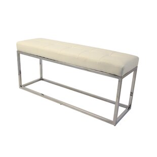 Hwang Modern Narrow Metal Bench by Orren Ellis