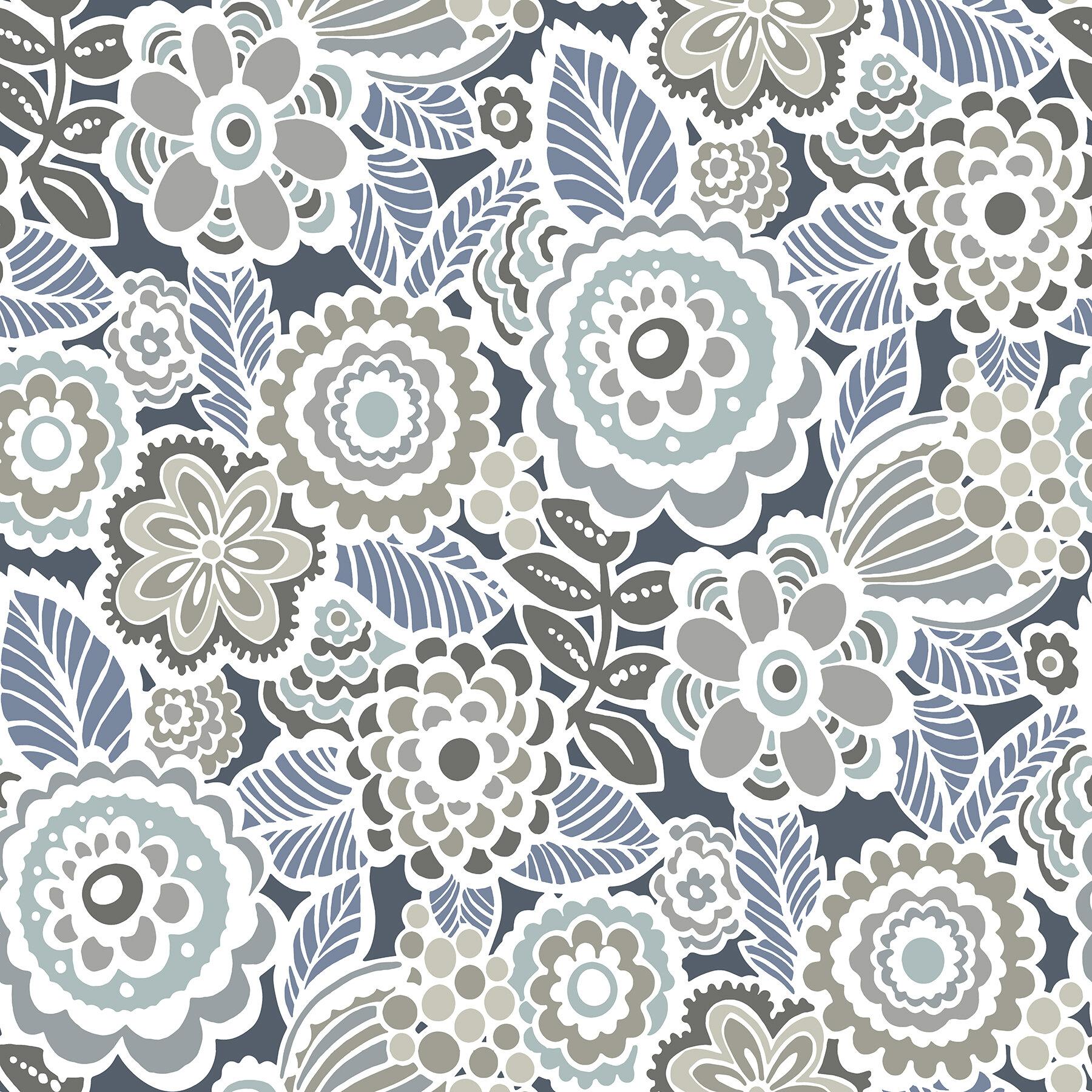Mortenson Dream 18 L X 20 5 W Smooth Peel And Stick Wallpaper