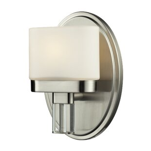 Lakey 1-Light Bath Sconce by Ebern Designs