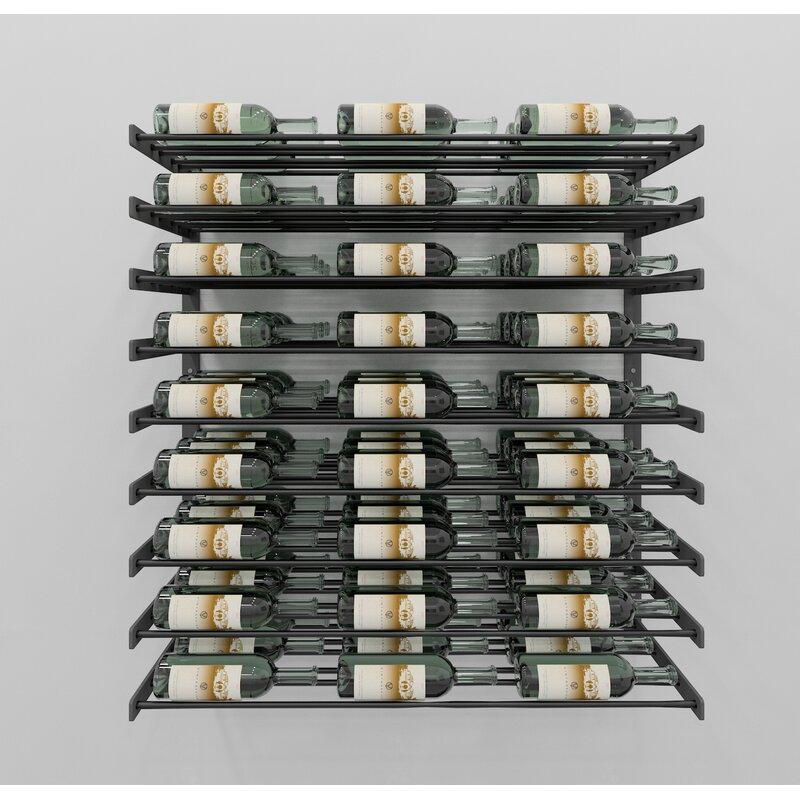 Rebrilliant Idora 81 Bottle Wall Mounted Wine Bottle Rack Wayfair