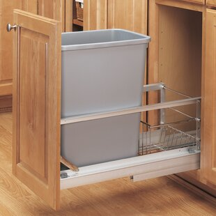 Pull Out Trash Can Cabinet | Wayfair