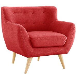 Mid Century Modern Tufted Armchair
