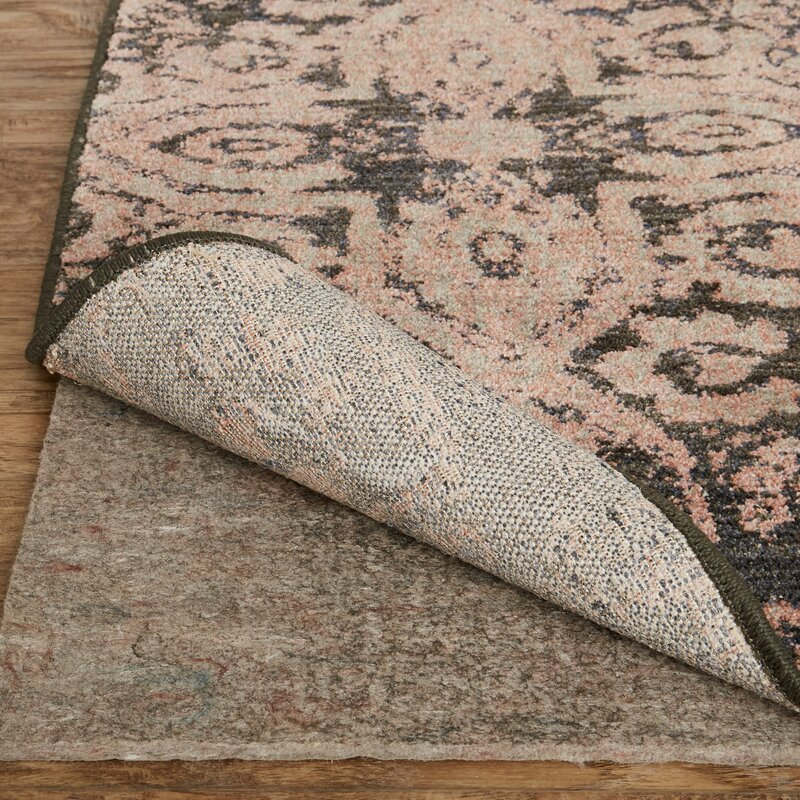 Cloisters Blush Pink And Grey Area Rug