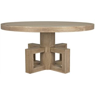 Lima Solid Wood Dining Table Noir
