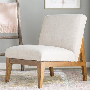 Emanuel Slipper Chair by Mistana