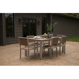 Katreesha Modern Outdoor Dining Set by Orren Ellis