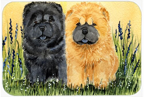 Chow Chow Glass Cutting Board with free Personalization