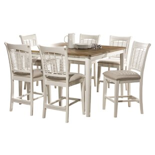 Abud Bayberry 7 Piece Counter Height Dining Set