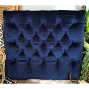 Honig Diamond Tufted Twin/Twin XL UpholsteredPanel Headboard by Zoomie Kids