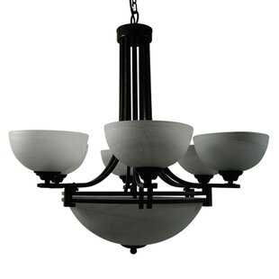 Joye 9-Light Shaded Chandelier by Darby Home Co