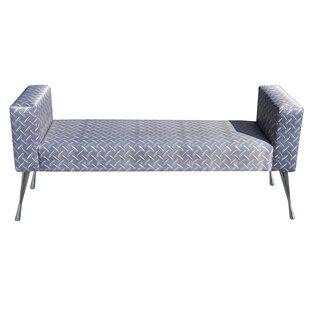 Blacha Upholstered Bench By Happy Barok