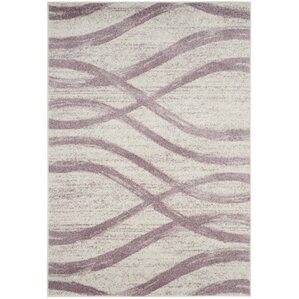 marlee creampurple area rug