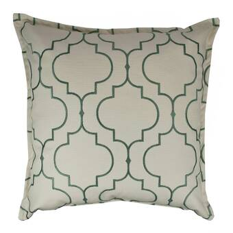 Astoria Grand Hawkin Silky Checks Decorative Throw Pillow Reviews Wayfair