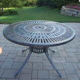 Sunray Metal Dining Table