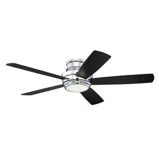 Chrome blades ceiling fans youll love wayfair save mozeypictures Gallery