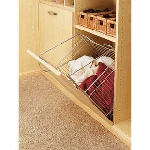 Read Reviews Tilt Out Hamper Basket By Rev-A-Shelf