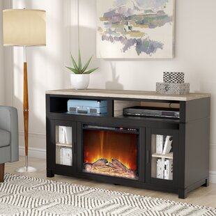 Reviews Zahara TV Stand for TVs up to 60 with Fireplace by Andover Mills Reviews (2019) & Buyer's Guide