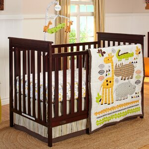 Zoobilee 4 Piece Crib Bedding Set